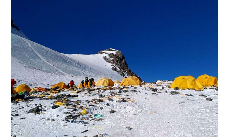 Mount Everest has been dubbed world's highest rubbish dump