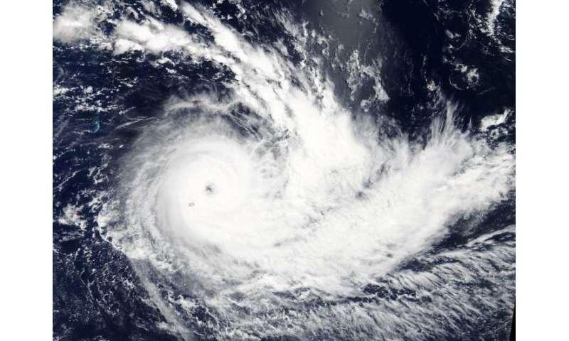 NASA sees Tropical Cyclone Joaninha affecting Mauritius