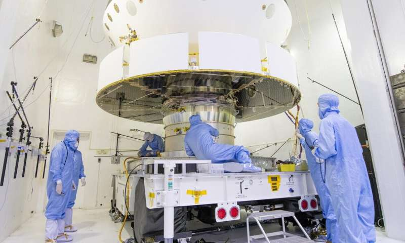 NASA's Mars 2020 gets a dose of space here on Earth