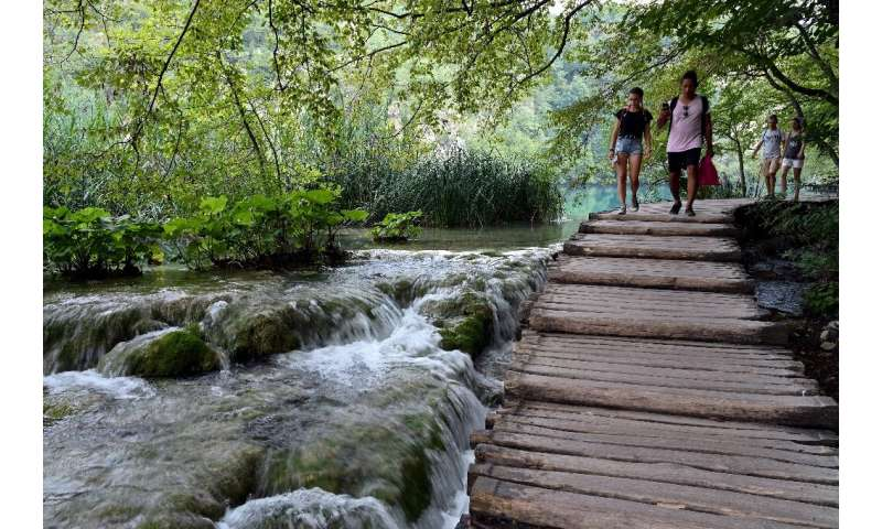 National parks, such as this one at Plitvice Lakes in Croatia, are an asset because of how much users get from them