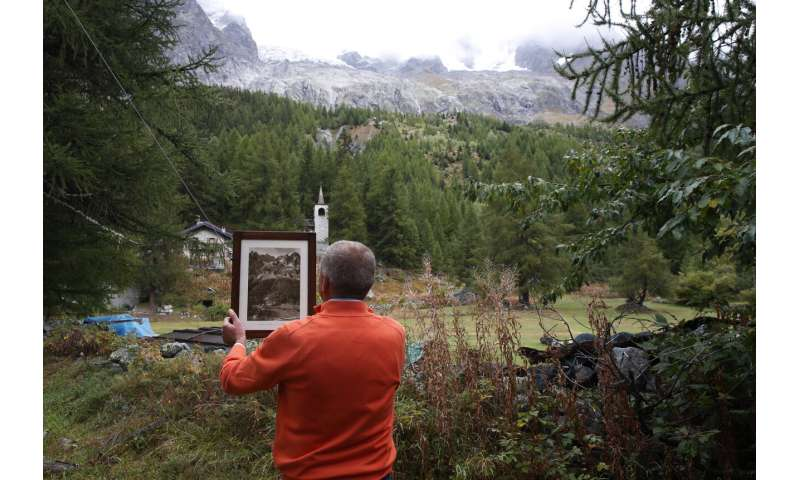 Radar installed to better watch unstable Mont Blanc glacier
