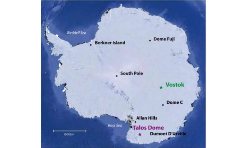 Radioactive chlorine from nuclear bomb tests still present in Antarctica