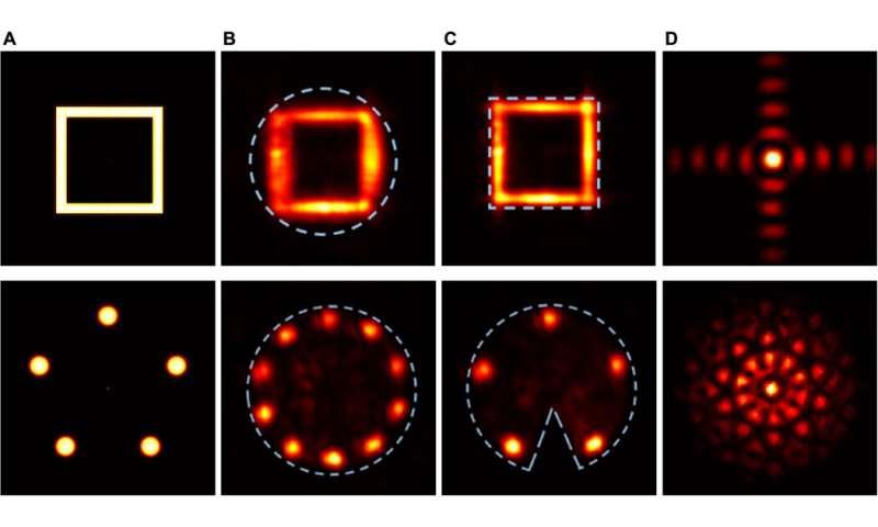 Rapid laser solver for the phase retrieval problem