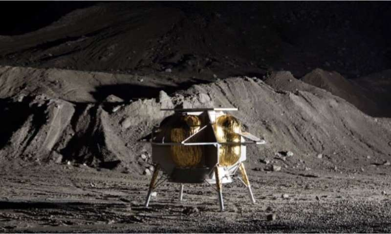 Robotic spiders might explore the moon