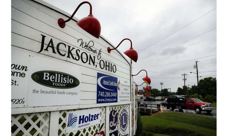 Rural Ohio county shows the impact of opioid influx