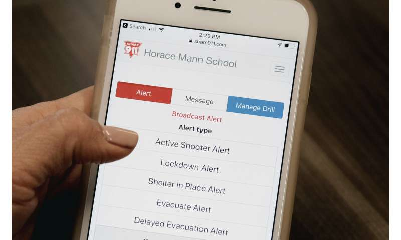 Schools turn to technology to reduce toll during shootings