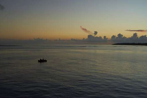 Seychelles science mission chases a wayward drone, in vain