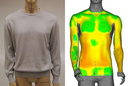 Software to speed up clothing development—computer model calculates heat disipation beneath clothing