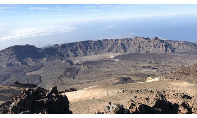 Study provides new insight into the origin of Las Cañadas caldera (Tenerife, Canary Islands)