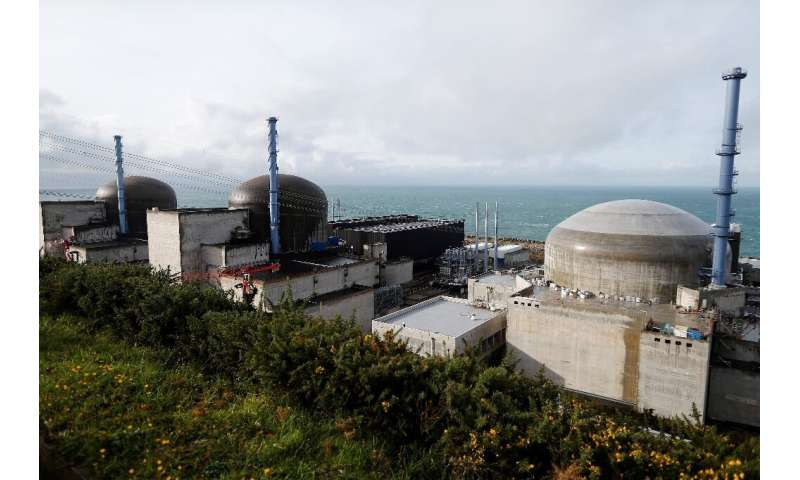 The construction site of the European Pressurised Reactor project (EPR)