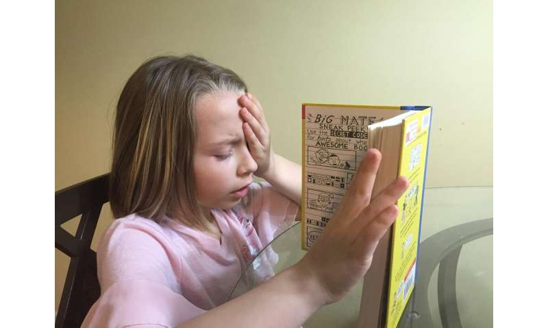 Treatment for common vision disorder does not improve children's reading skills
