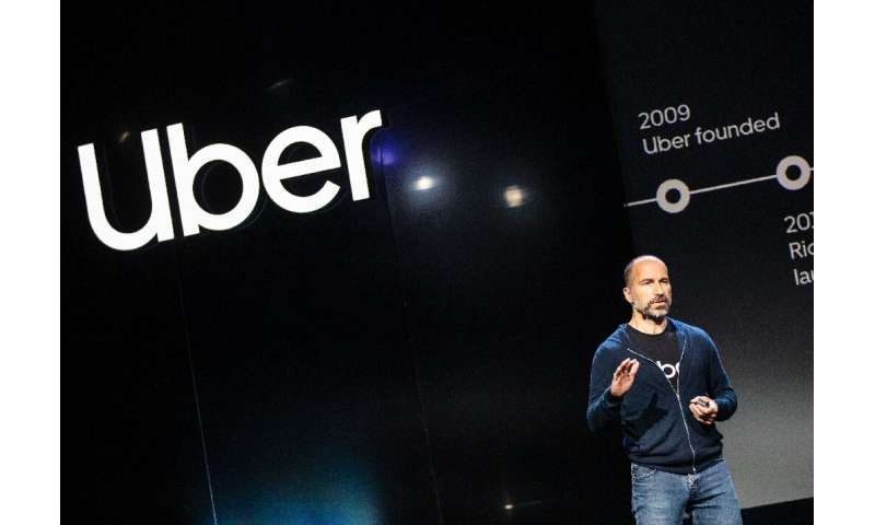 Uber CEO Dara Khosrowshahi unveiled a new version of its smartphone app at a San Francisco event