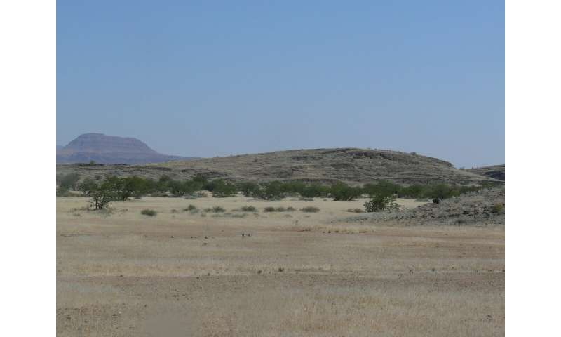 WVU researcher unearths an ice age in the African desert