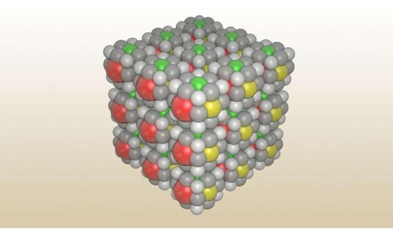 Researchers create molecular-scale Rubik's Cube