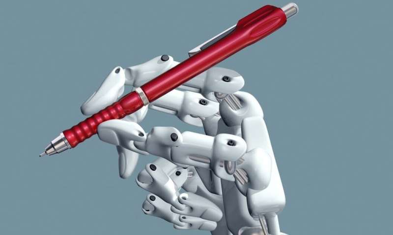 Artificial intelligence-enhanced journalism offers a glimpse of the future of the knowledge economy