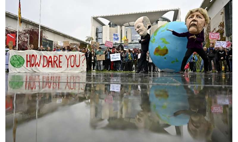 Environmentalists have staged angry protests about global warming