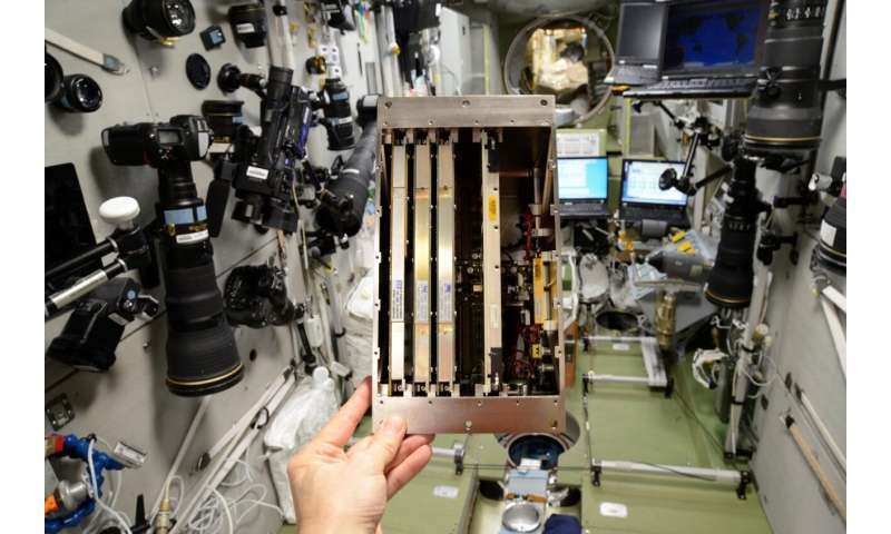 International Space Station computer gets a heart transplant