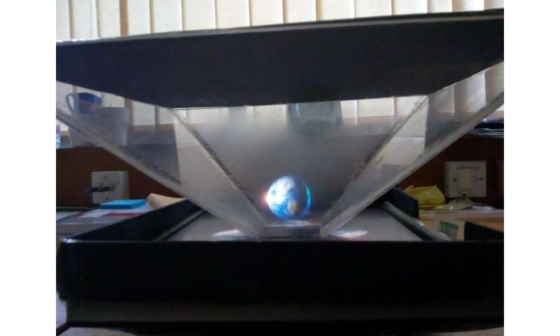 3D holograms bringing astronomy to life