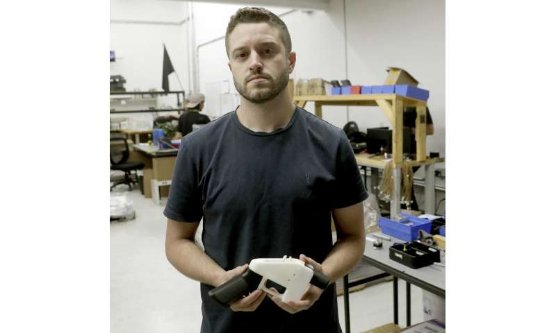 3D printer gun plans seller pleads guilty to sex with minor