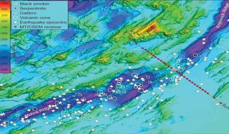 A first glimpse deep beneath an ultraslow-spreading mid-ocean ridge