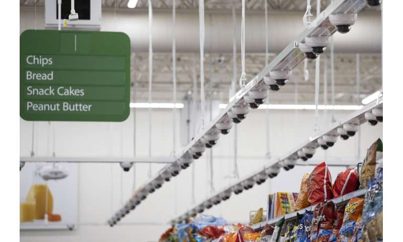 At Walmart, using AI to watch the store