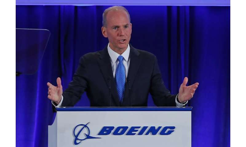 Boeing Chief Executive Officer Dennis Muilenburg said the 737 MAX could be brought back into service gradually by government reg