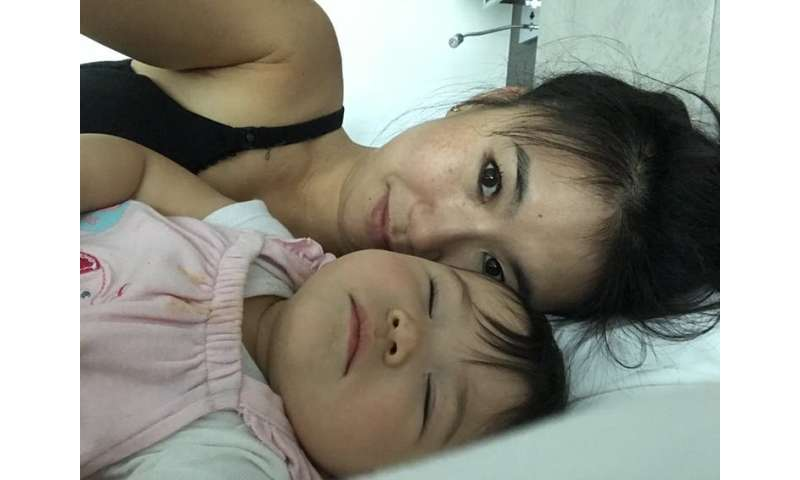 Breastfeeding struggles linked to postpartum depression inmothers