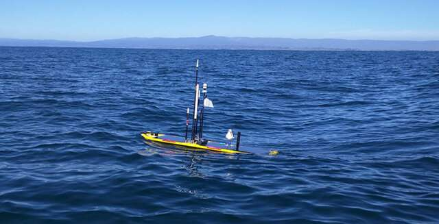 Carbon dioxide from Silicon Valley affects the chemistry of Monterey Bay