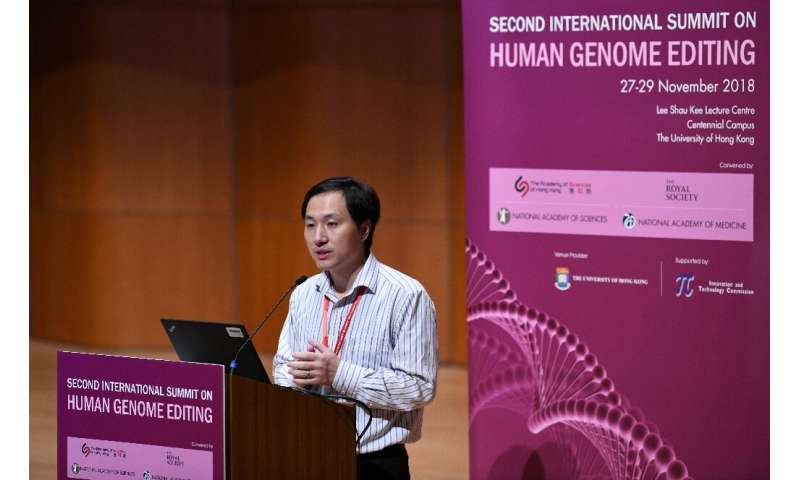 Chinese scientist He Jiankui sparked an international outcry after claiming to have altered the genes of babies