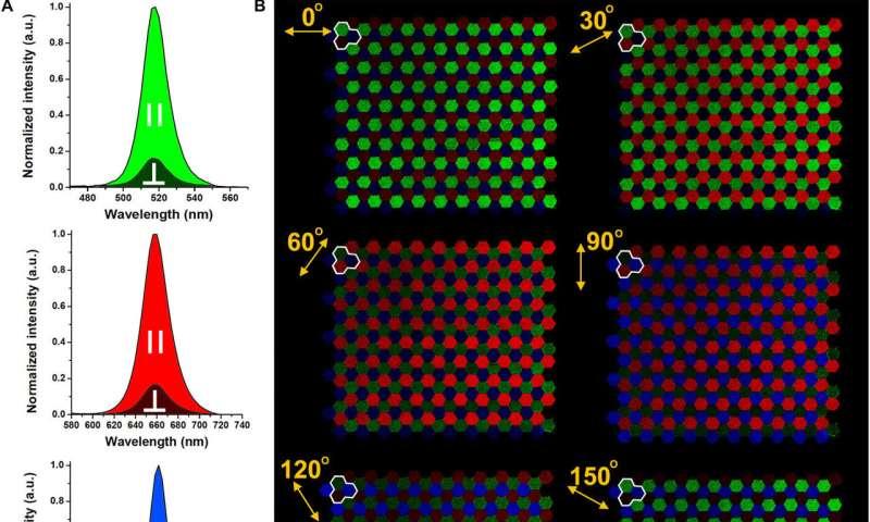Digitally programmable perovskite nanowire–block copolymer composites