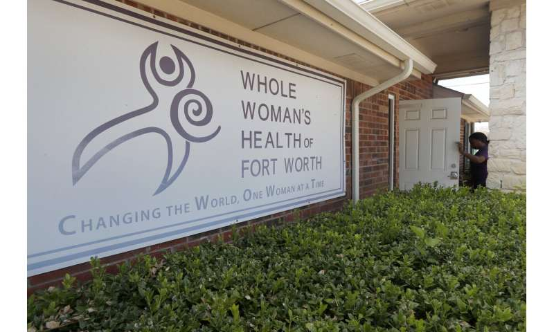 For some Texans, nearest abortion clinic is 250 miles away