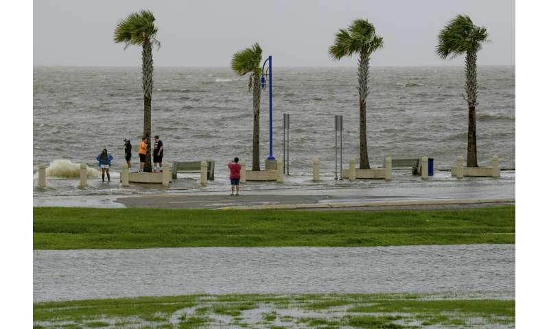 Hurricane Barry's rain and floods hammer Gulf environment