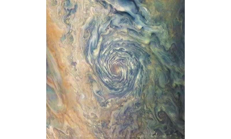 NASA's Juno navigators enable Jupiter cyclone discovery