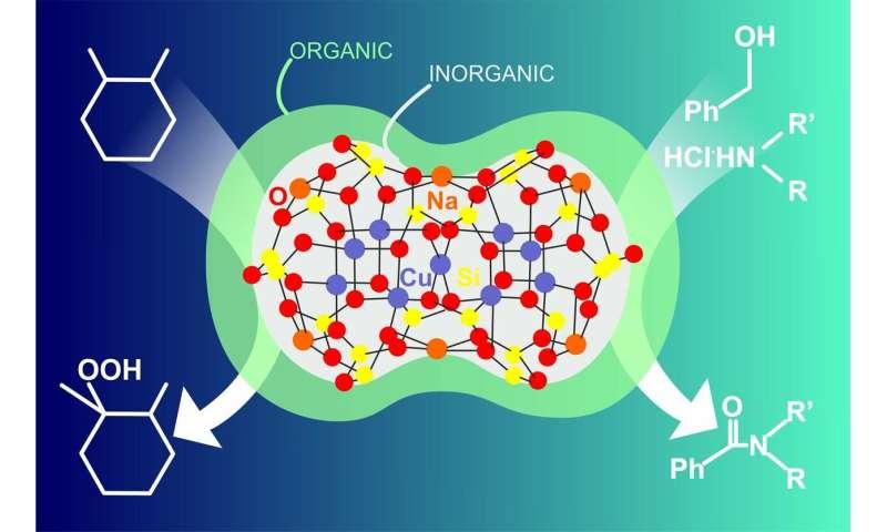 RUDN Chemists Synthesized a New Hybrid Organic-Inorganic Catalyst