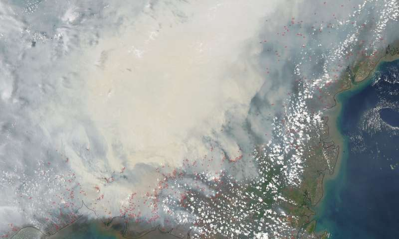 Satellite data can reveal fire susceptibility in peatlands