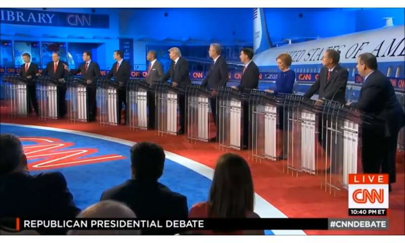 Study shows visual framing by media in debates affects public perception