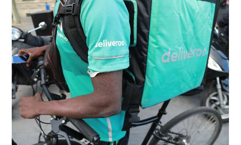 Tens of thousands of Deliveroo workers—most of them young men on bikes and scooters—are deprived of a minimum wage or paid leave