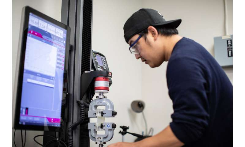 Texas A&M researcher makes breakthrough discovery in stretchable electronics materials