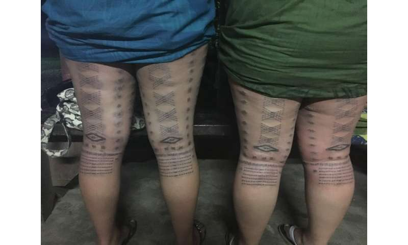 Untangling tattoos' influence on immune response