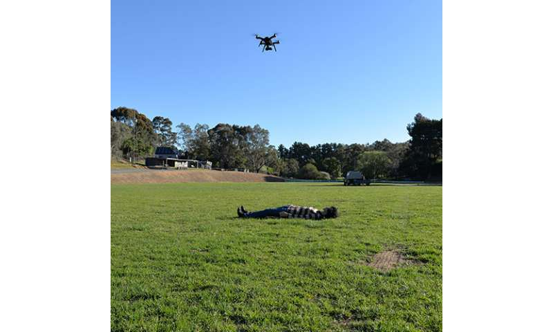 World-first study with drone cameras now separates living from the dead