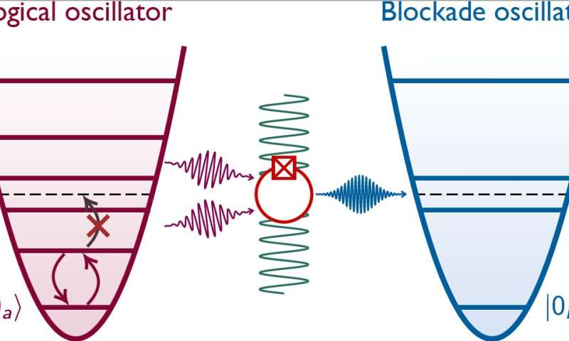 Researchers achieve quantum control of an oscillator using a Josephson circuit