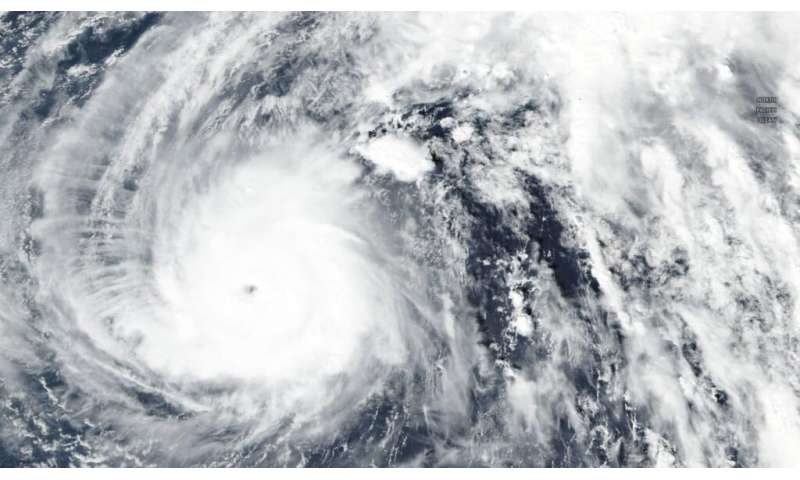 NASA-NOAA satellite finds super typhoon Halong finally weakening