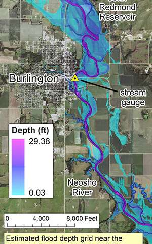 Researcher's innovative flood mapping helps water and emergency management officials