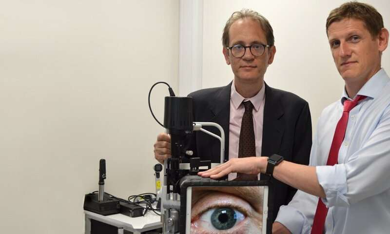 Researchers say pioneering emergency eye care trial leads to quicker treatment times