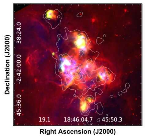 Astronomers investigate star-forming processes in the young stellar object G29.862–0.044