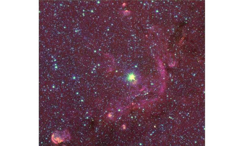 Astronomers show how supergiant stars repeatedly cool and heat up