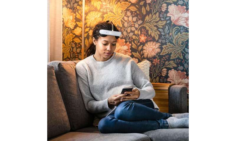 **Brain stimulation headset for treating depression at home now for sale in U.K.
