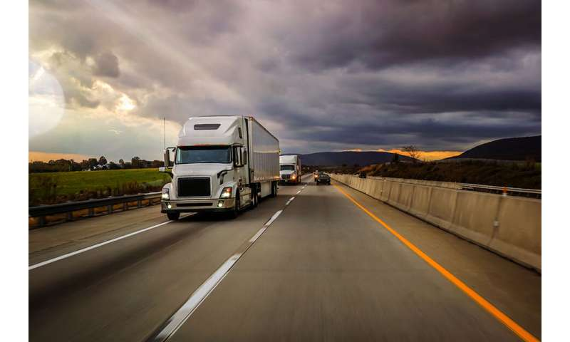 Engineers develop concept for hybrid heavy-duty trucks