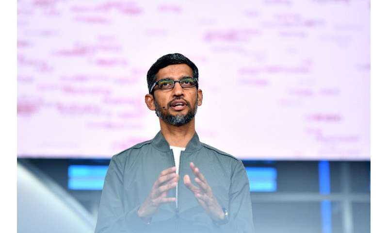 "Google CEO Sundar Pichai  said the online giant would ""engage constructively"" with regulators amid a likely US antitru"