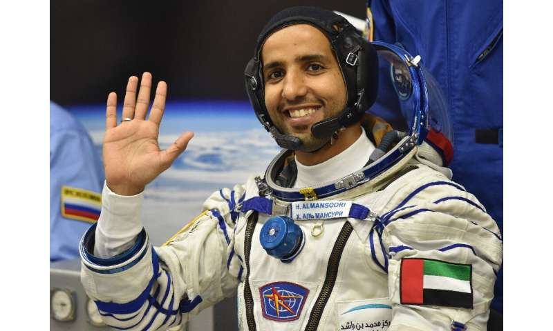 Hazzaa al-Mansoori of the United Arab Emirates has become the first Arab to board the International Space Station